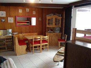 Appartement 2 pièces 6 pers balcon Sud -Béro Bisto