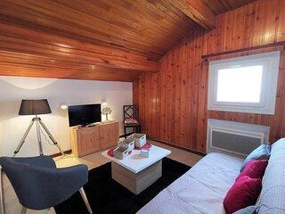 2 pièces 6 personnes, appartement  maisonnette
