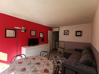 Appartement deux pièces 6 personnes, résidence Mongie Tourmalet