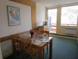 Studio cabine 4  avec parking couvert, résidence Le Montana