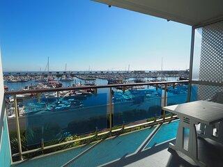Appartement pour 6 personnes vue sur le port d'Arcachon