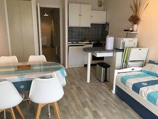 FORT MAHON PLAGE : Appartement avec vue sur la mer.