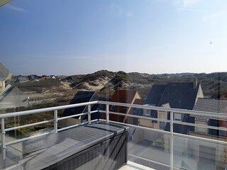 FORT-MAHON-PLAGE: vue sur les dunes et proche plage.