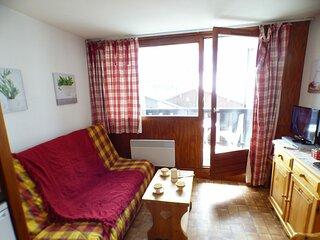 Studio cabine 22 m², orienté SUD, classé 1*