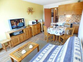Studio cabine 26 m², orienté SUD, classé 2**