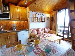 Studio cabine 22 m², orienté SUD