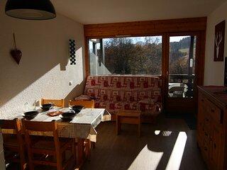 Studio alcove 22 m², orienté SUD, classé 2**