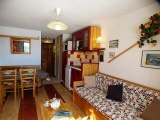 Deux pièces 24 m², orienté SUD, classé 2**