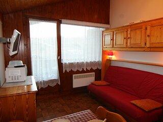 Studio cabine 22.5 m², orienté SUD, classé 1*