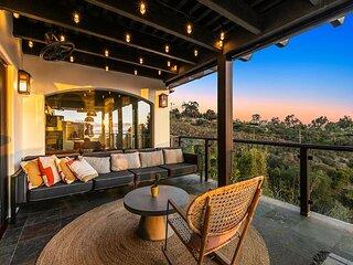 Vast Ocean-View Estate | 7 Balconies, Hot Tub & Meditation Room