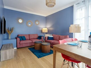 Morny Rose - Appartement 2 chambres proche plage