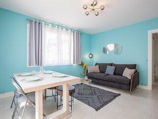 Morny Turquoise - Appartement plein centre - Proche plage