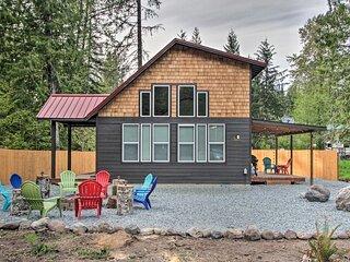 Cozy Cabin - 5 Miles to Mt Rainier National Park!