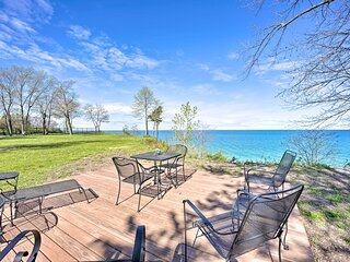 NEW! Modern Home w/ Hot Tub + Lake Michigan Views!