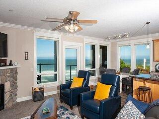 Shared Dream - Corner 2nd Floor Oceanfront Condo, Private Hot Tub, Indoor Pool!
