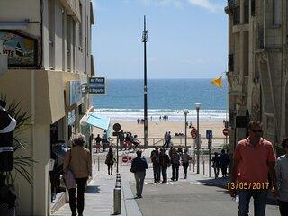 Appartement en centre ville et proche de la plage