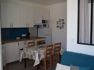 Appartement lumineux a quelques pas de la plage