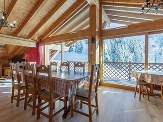 Proximite ski nordique, lumineux, vue massif de Balme, garage, WIFI