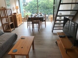 Appartement T3  4-6 couchages  ARGLES SUR MER