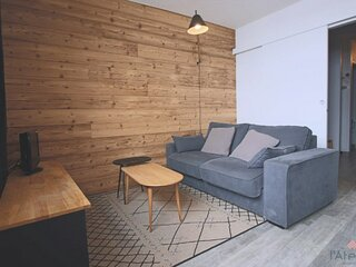 STUDIO CABINE 5/6 PERS. 5 couchages PIAU-ENGALY