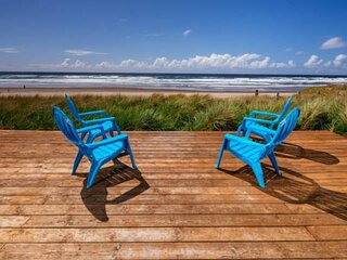 Unrivaled Oceanfront Retreat With 180 Degree Epic Views of Two Capes, Pet Friend