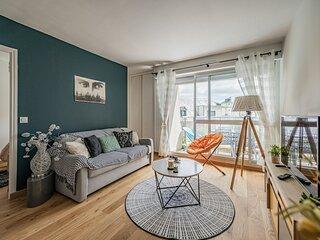 Bel appartement face à la mer 3*