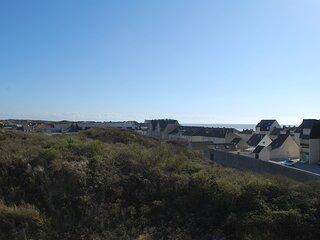 FORT MAHON PLAGE : Vue sur les dunes et exposition Sud