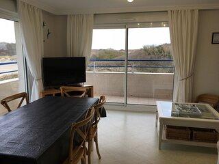 FORT MAHON PLAGE : Vue sur les dunes et exposition Sud - Appartement 3 Chambres.