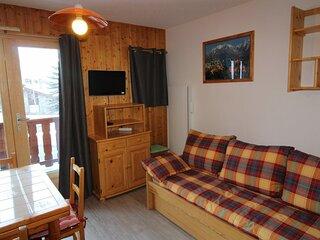 CHC130 : Appartement 4  personnes dans le village de Lanslevillard
