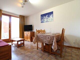 ESS002 - Appartement pour 4 personnes au centre du village et proche des pistes