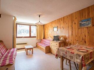 AR0026 appartement dans le village de Lanlebourg à 300m des pistes