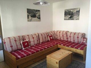 BO0013 Appartement dans le village de Lanslebourg à 300m des pistes
