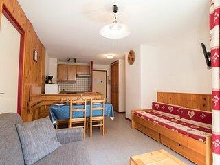 CA0014 Appartement dans le village de Lanslebourg à 300m des pistes