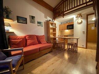Appartement 2 pieces cabine - Praz-sur-Arly