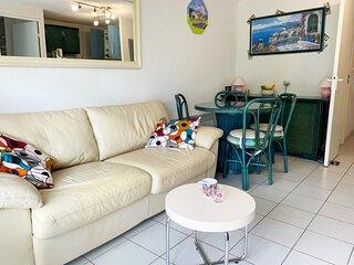 Appartement T3 climatise proche de tout pour 6 personnes - Cap d'Agde