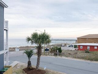 Pack The Fishing Poles And Enjoy Views Of The Ocean And Kure Beach Pier!