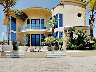 Beachfront Dream | Home Theater & Elevator | Ocean-View Rooftop Deck, Hot Tub
