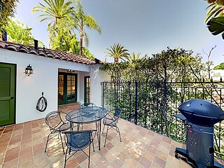 Art-Filled Charmer | Upscale Indoor/Outdoor Oasis | Walk to Hollywood Bowl
