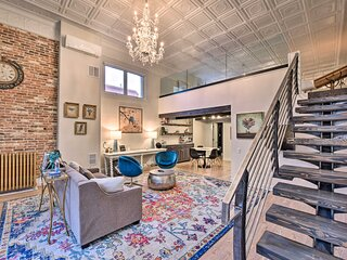 Historic Palace Loft w/ Reserved Parking Space!