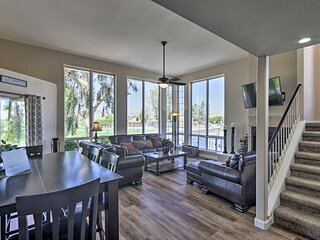 NEW! Amenity-Packed Home w/ Hot Tub & River Views!