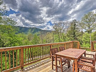 NEW! Beautiful A-Frame Cabin w/ Smoky Mtn Views!