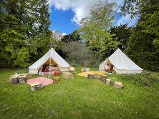 Avington Glamping | Tent 3 - Rosie's