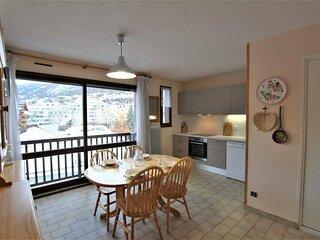 Appartement 2 pièces cabine - 5 personnes Briançon
