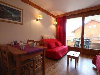 Appartement - 2 pieces - 4 personnes - Puy Saint Vincent 1800