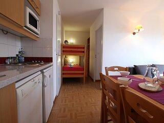 Appartement  - 2 pieces - 6 personnes - Puy Saint Vincent 1800