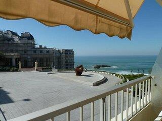 Un balcon sur l'Ocean a Biarritz
