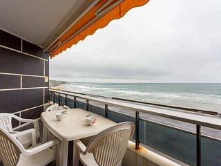 Grand studio avec balcon vue mer