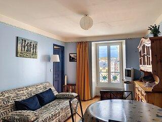 Appartement avec ascenseur, dans residence, hypercentre