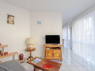 A 50 m de la Plage, appartement T2 pour 4 personnes avec acces Piscine
