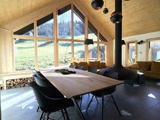 Belle maison neuve, calme et confort assurés pour séjours de vacances à Villard